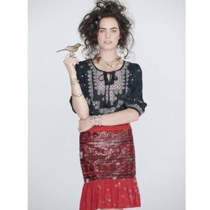 anthropologie | moulinette soeurs 'suelta' skirt